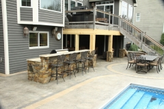 Backyard Oasis Rennovation